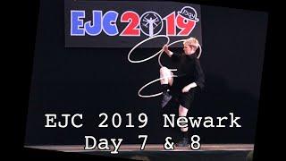 EJC 2019 Newark Day 7 & 8 - Fight Night prep, Gala Show