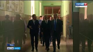 Сегодня в Омск с рабочим визитом прибыл министр транспорта России Евгений Дитрих