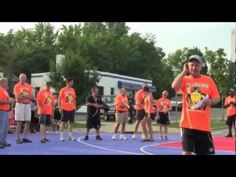 Gus Macker -  Belding, MI 2012 - Open Ceremonies