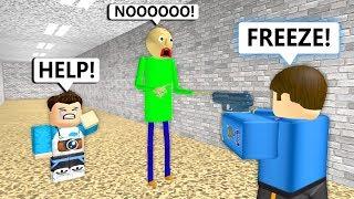 Baldi Goes To Prison (Roblox Animation)