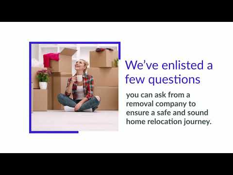 Questions To Ask Your Removalist Company