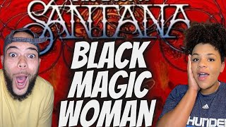 AND HE CAN SING!!..   FIRST TIME HEARING Santana - Black Magic Woman REACTION