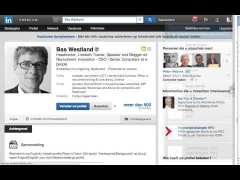 LinkedIn Tip Nr 2 Een Goede Profiel Foto
