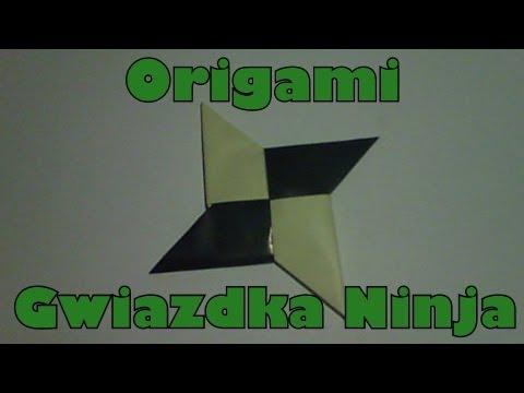 Origami - Gwiazdka Ninja + Mały kurs Ninja