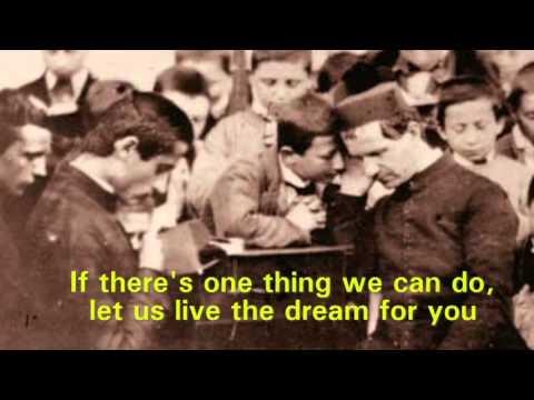 Live the Dream - St. John Bosco