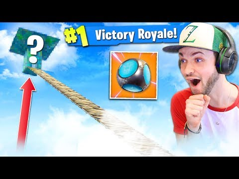 PORT-A-FORT at *MAX* HEIGHT - WHAT HAPPENS? - Fortnite: Battle Royale! (CRAZY)