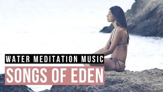 Meditation Music with Water sound 1 Hour. Running Water Meditation Music for positive energy