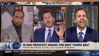 First Take: Stephen a Smith and Will Cain get into HEATED debate over Cowboys!!!
