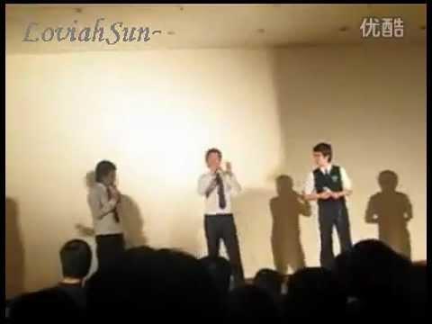 [Pre debut] 080409 EXO-K Baekhyun sings at school even
