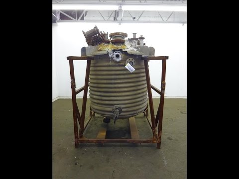 Used- Trinity Industries Inc. Reactor, Approximate 300 Gallon - stock # 48199009