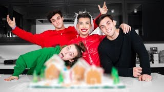 Best Friends Build A Gingerbread Dream House ft. Emma Chamberlain & Dolan Twins