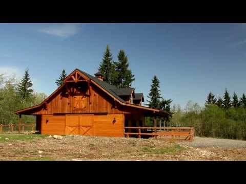 Olympic 36 Gable Barn - Walk Through
