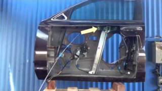 How car window regulators work