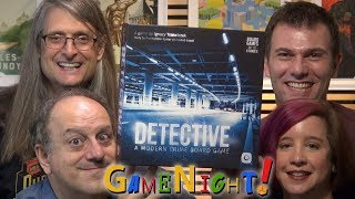 Detective: A Modern Crime Board Game - GameNight! Se6 Ep10