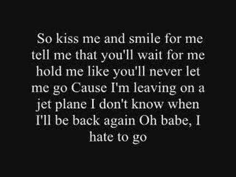 Leaving on a Jet Plane by Chantel Kreviazuk
