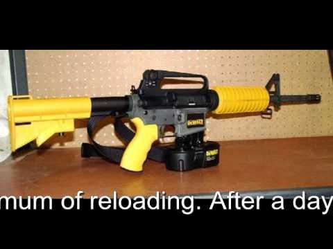 Dewalt Rapid Fire Nail Gun By Firearmpop Youtube