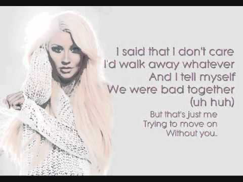 JUST A FOOL (Video Lyrics) - Christina Aguilera