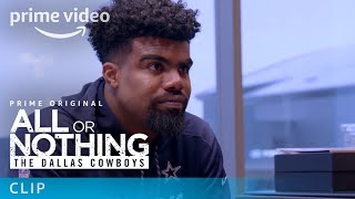 All or Nothing: The Dallas Cowboys - Clip: Jerry Jones and Ezekiel Elliott | Prime Video