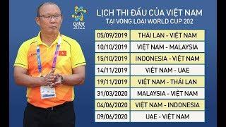 LỊCH THI ĐẤU CỦA ĐỘI TUYỂN VIỆT NAM TẠI WORL CUP 2022 - KẾT QUẢ BỐC THĂM VÒNG LOẠI WORL CUP CHÂU Á