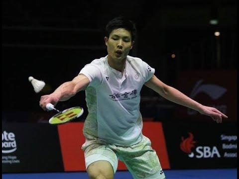 HD [日本電視台] 周天成(台灣)vs 常山幹太 日本羽球公開賽 - 男單32強戰 2018/9/11