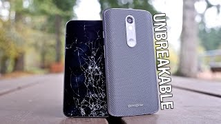 First Shatterproof Phone? Droid Turbo 2 vs iPhone 6S Drop Test!