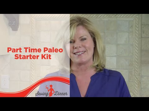 Part Time Paleo Starter Kit from SavingDinner.com and Leanne Ely