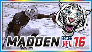 MADDEN 16 FUNNY MOMENTS - WILDCAT vs. Moo Snuckel! - Snowing in California, Tom Brady Sucks!