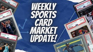 Sports Card Investing: Weekly Sports Card Market update & news!