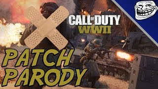 Call of Duty WW2 Patch Parody: Shadow War DLC, New Commando Division, Basic Trainings, Weapons