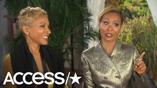 Jada Pinkett Smith Takes On Rumors That She & Will Smith Haven't Slept Together In Years | Access