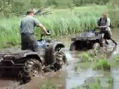 grizzly 660 and grizzly 450 mudding