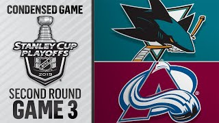 04/30/19 Second Round, Gm3: Sharks @ Avalanche