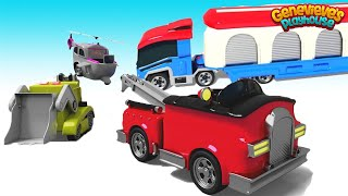 Learn Paw Patrol Vehicle Names for Kids in Fun Community Vehicle Animation!