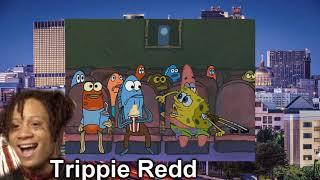 New school rappers portrayed by spongebob