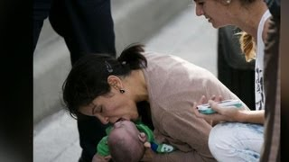 Baby rescued on Miami roadside by stranger who gave CPR