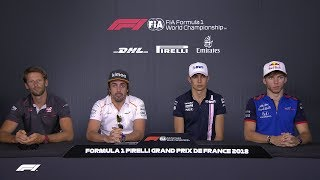 2018 French Grand Prix: Pre-Race Press Conference
