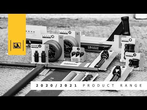 Video URBANARTT Clamp CIVIC 4 screws SCS Black