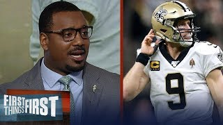 Drew Brees has enough in the tank to make Saints contenders — Chris Canty | NFL | FIRST THINGS FIRST