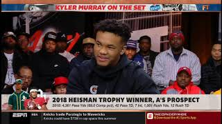 "Stephen A. Smith vs Kyler Murray QUESTIONABLE ""What QB most resembles your game""
