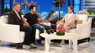"Mark Wahlberg and Will Ferrell's Teenage Kids Are ""In Communication"""
