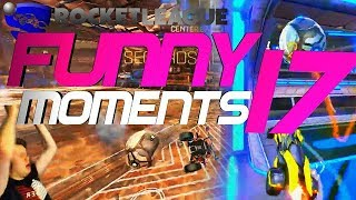 ROCKET LEAGUE FUNNY MOMENTS 17 😆 (FUNNY REACTIONS, FAILS & WINS BY COMMUNITY & PROS!)
