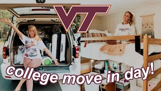 COLLEGE MOVE IN DAY 2019 | Virginia Tech