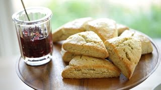 Beth's Lemon Poppy Seed Scone Recipe | ENTERTAINING WITH BETH
