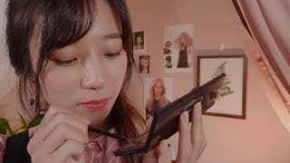Doing Your Lovely Pink Makeup🎀/ ASMR Makeup Artist
