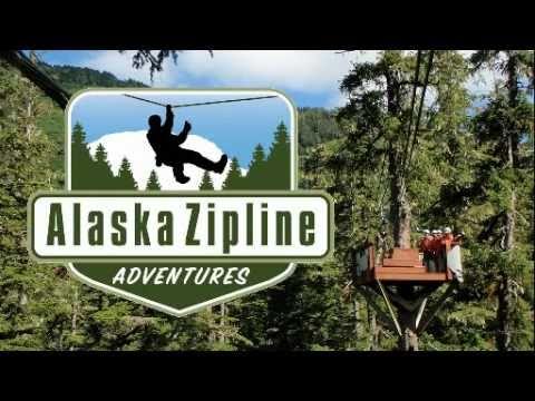 Alaska Zipline Adventures 2011 -- AlaskaZip.com