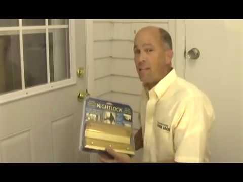 Nightlock Easy To Install Video For Home Security Door