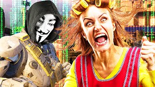 HACKERS MOM TROLLED SO HARD SHE GOES CRAZY! (Black Ops 3 Trolling)