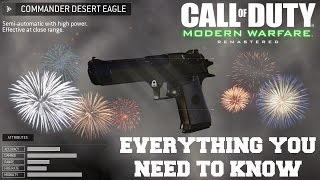Commander Desert Eagle - Everything You Need to Know (Call of Duty: Modern Warfare Remastered)