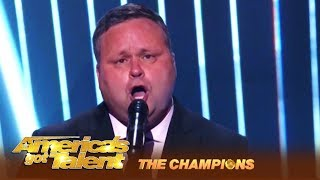 Paul Potts: Britain's Got Talent's First Winner WOWS America! | America's Got Talent: Champions