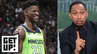 Stephen A.: Wolves sabotaging Jimmy Butler's trade demands | Get Up!